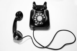 営業電話の写真