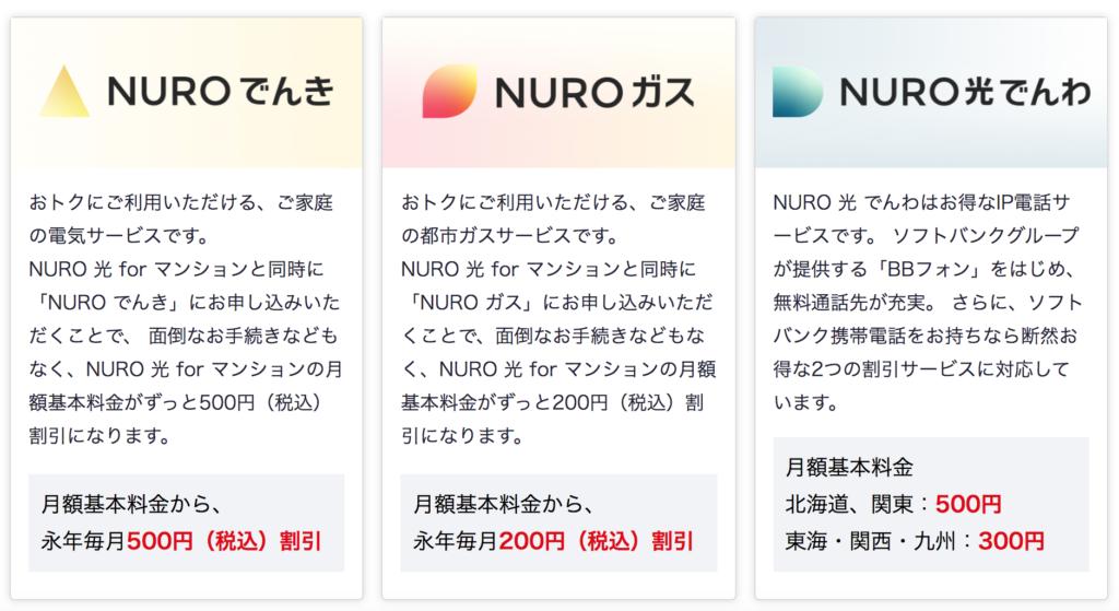 NURO光オプションの写真
