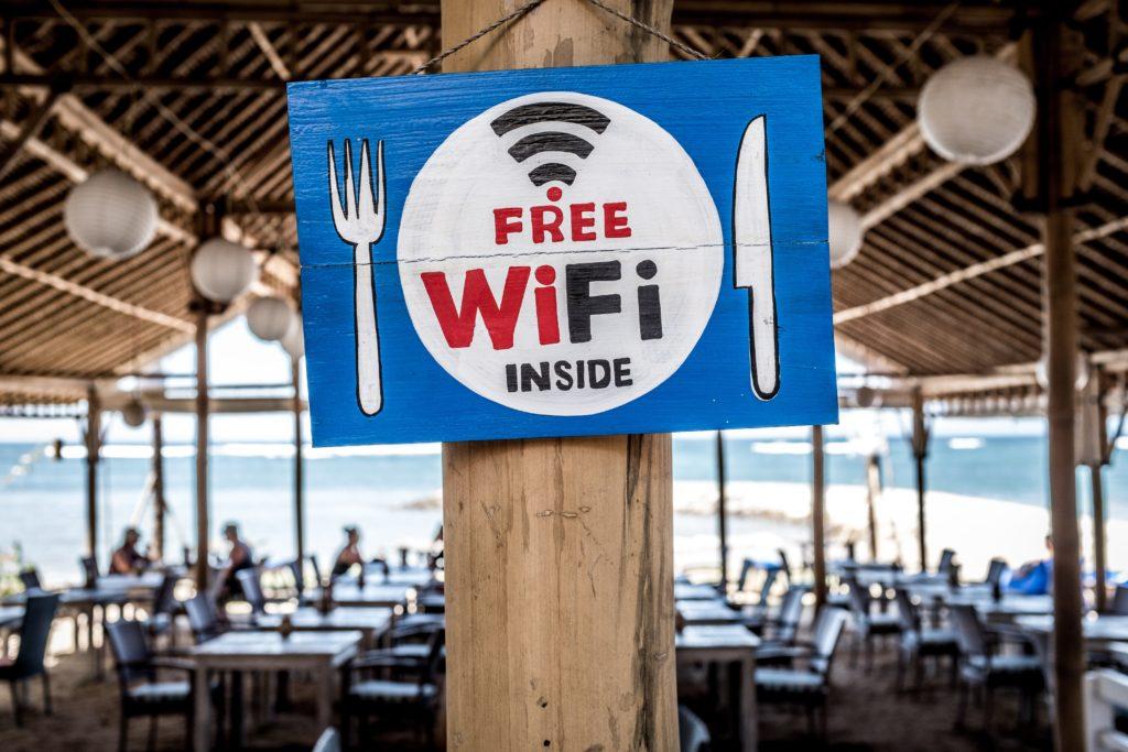 フリーWi-Fiの写真