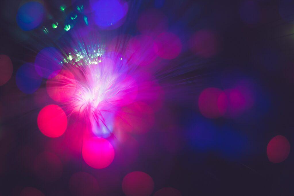 光回線とプロバイダの写真