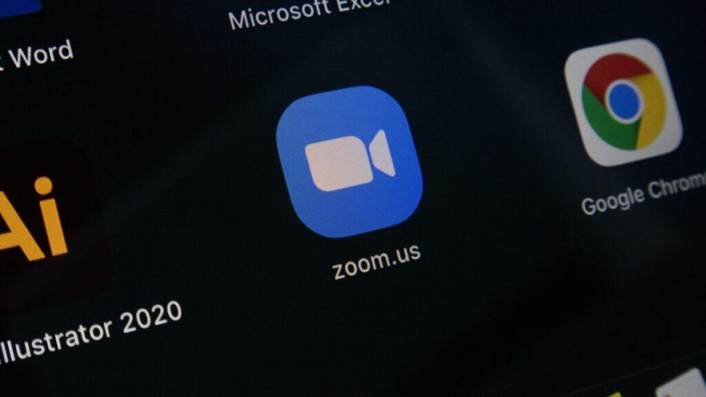 Zoomの写真